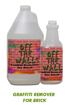 Graffiti Remover for Brick