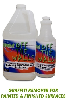 Graffiti remover for painted surfaces
